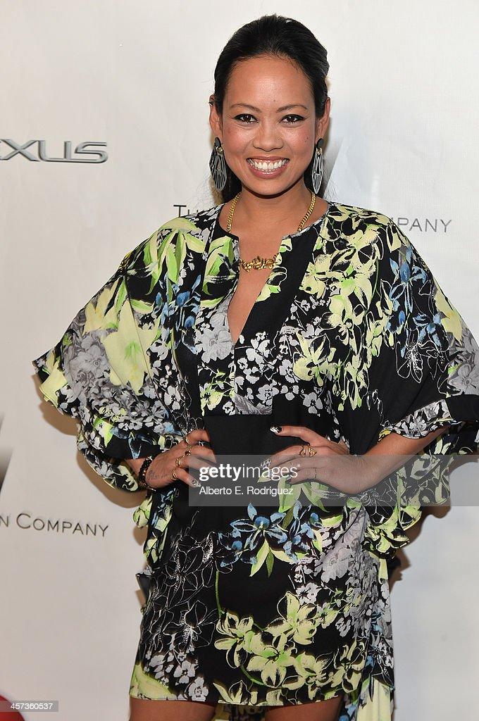 Designer Anya Ayoung-Chee attends the 'Under The Gunn' Finale Fashion Show at Los Angeles Theatre on December 16, 2013 in Los Angeles, California.