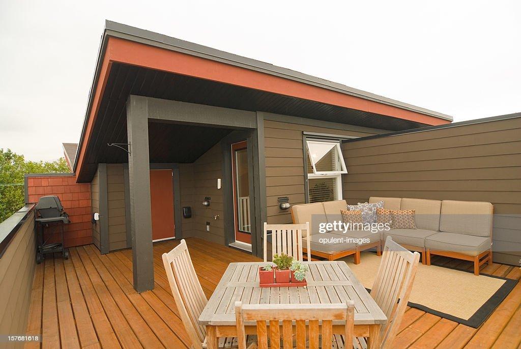 Designer Appartement terrasse sur le toit : Photo