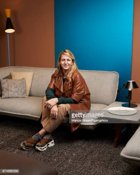 Designer architect and creative director of Cassina Patricia Urquiola is photographed for Madame Figaro on February 14 2017 in Paris France CREDIT...