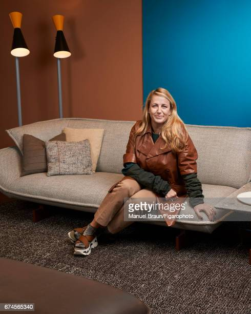 Designer architect and creative director of Cassina Patricia Urquiola is photographed for Madame Figaro on February 14 2017 in Paris France PUBLISHED...