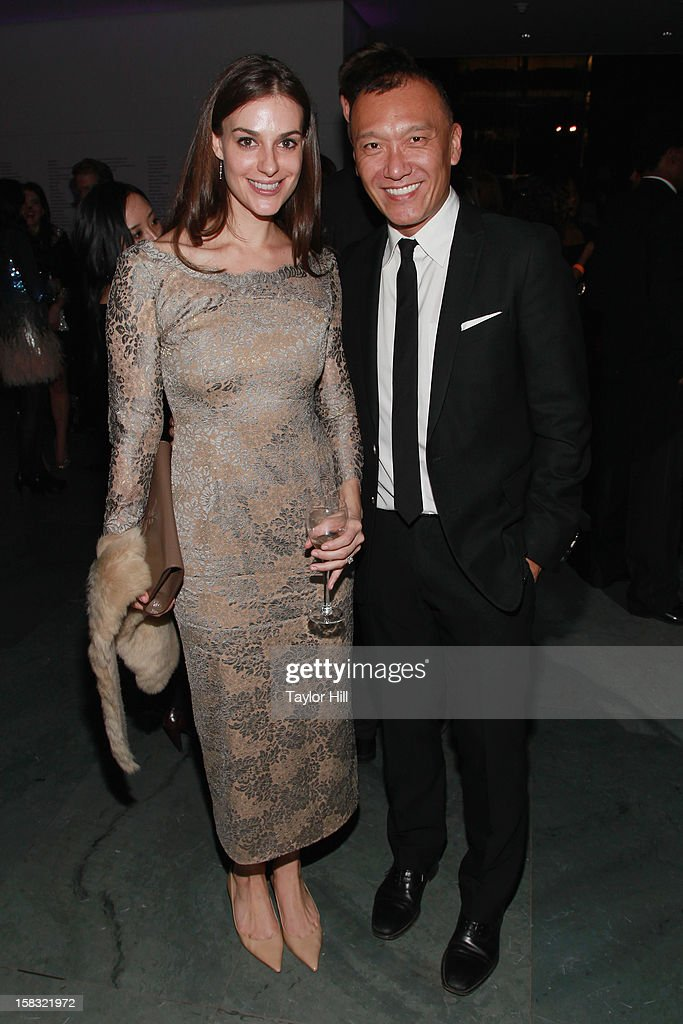 Designer Ariana Rockefeller Bucklin and ELLE Creative Director Joe Zee attend The Museum of Modern Art's Jazz Interlude Gala After Party at MOMA on December 12, 2012 in New York City.
