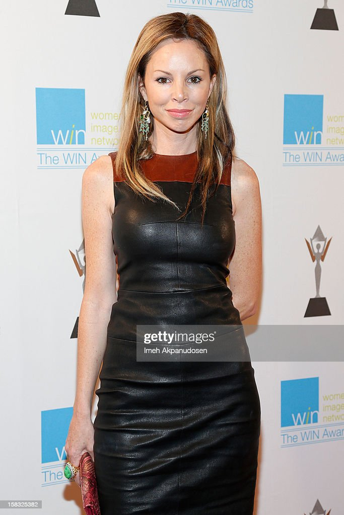 Designer Aries Milan attends the 14th Annual Women's Image Network Awards at Paramount Theater on the Paramount Studios lot on December 12, 2012 in Hollywood, California.