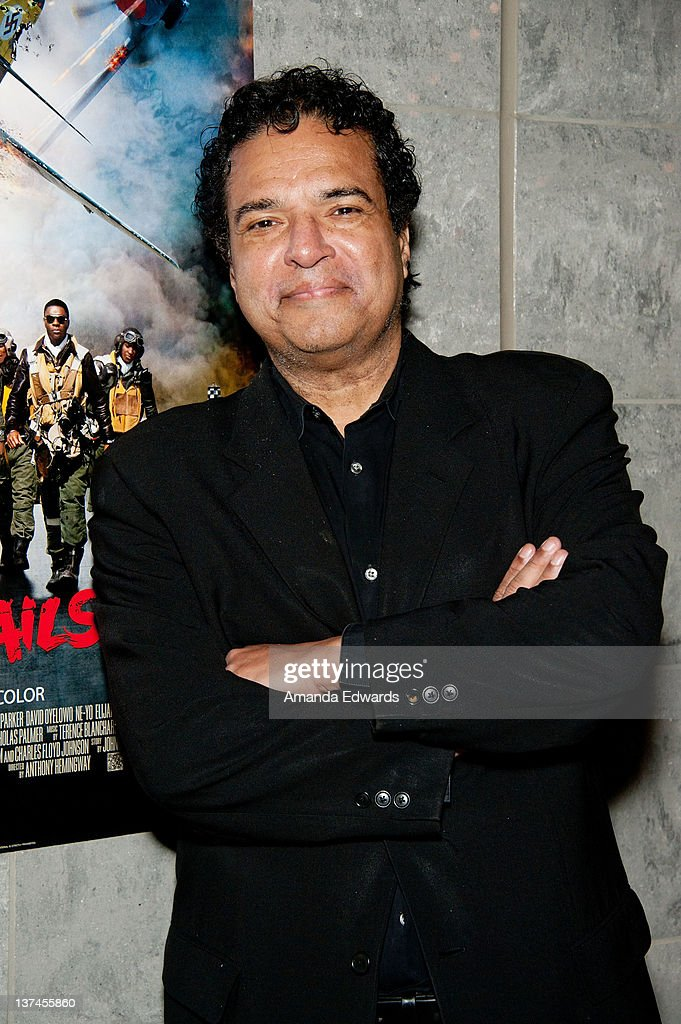 Designer Art Sims attends the 'Red Tails' VIP opening night screening at Rave Baldwin Hills 15 Theatres on January 20 2012 in Los Angeles California