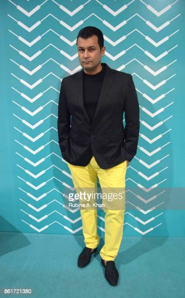 Designer Ashish N Soni at the Fashion Design Council of India's 30th edition of India Fashion Week Spring Summer 2018 held at the National Small...