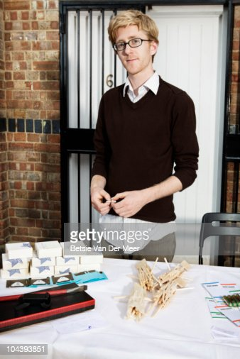 designer at craftmarket. : Stock Photo