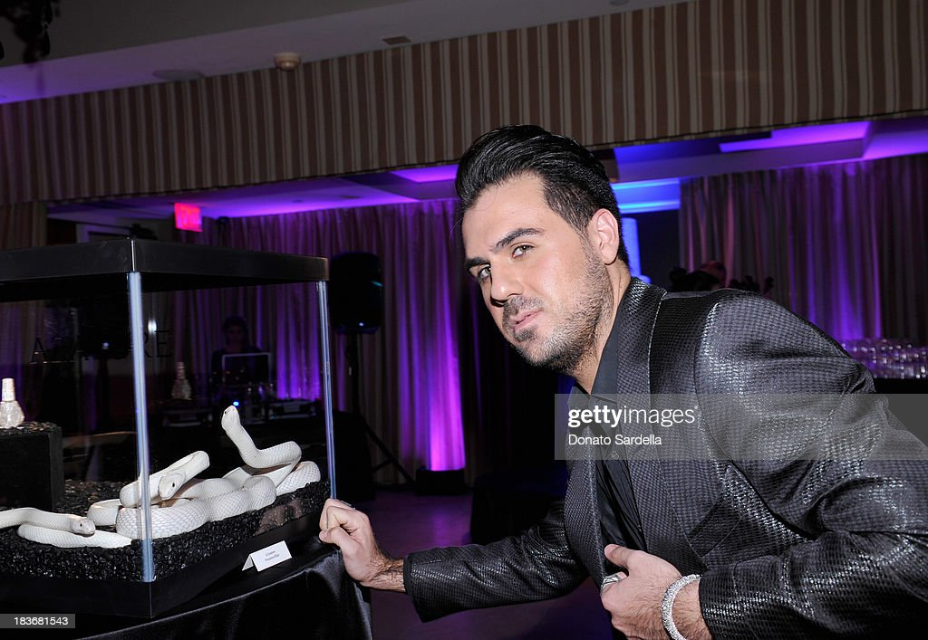 Designer Azature Pogosian attends The Black Diamond Affair with A Z A T U R E at Sunset Tower on October 8, 2013 in West Hollywood, California.