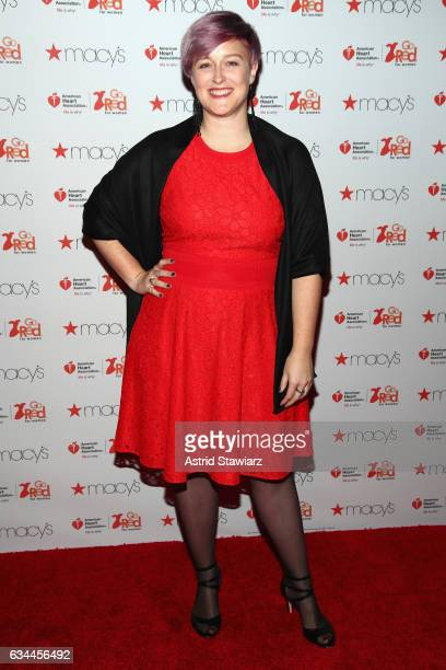 Designer Bethany Meuleners attends the American Heart Association's Go Red For Women Red Dress Collection 2017 presented by Macy's at Fashion Week in...