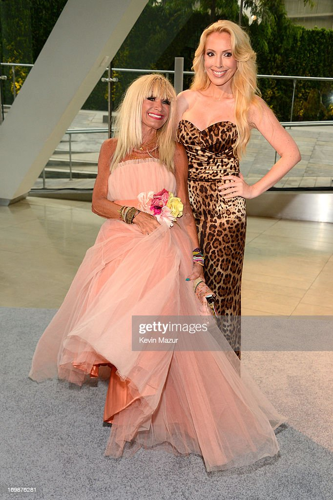 Designer Betsey Johnson (L) and <a gi-track='captionPersonalityLinkClicked' href=/galleries/search?phrase=Lulu+Johnson&family=editorial&specificpeople=852259 ng-click='$event.stopPropagation()'>Lulu Johnson</a> attend 2013 CFDA Fashion Awards at Alice Tully Hall on June 3, 2013 in New York City.
