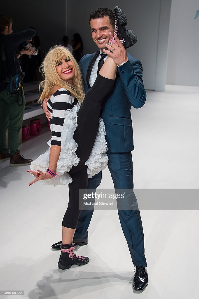 Betsey Johnson - Front Row & Backstage - Mercedes-Benz Fashion Week Spring 2015