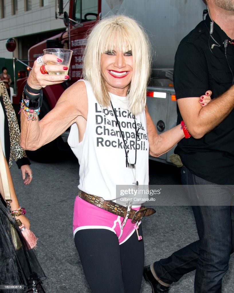 Designer Betsey Johnson attends 2014 Mercedes-Benz Fashion Week during day 7 on September 11, 2013 in New York City.