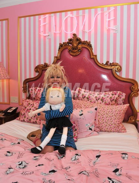 Designer Betsey Johnson Promotes The Eloise Suite At The Plaza Hotel