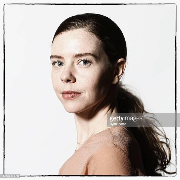 Designer Bianca Spender poses for a portrait as MercedesBenz Fashion Week Australia Marks 20 Years on April 11 2015 in Sydney Australia