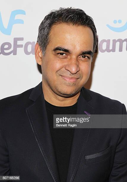 Designer Bibhu Mohapatra attends the NameFacecom launch party at No 8 on January 27 2016 in New York City