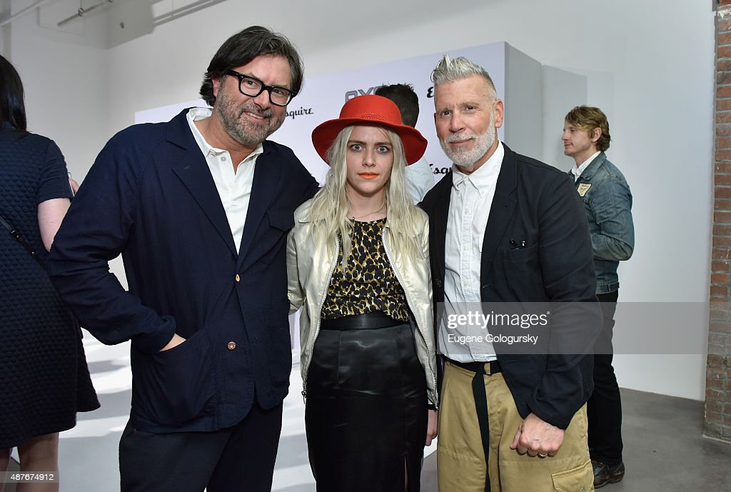 Designer Billy Reid and Savannah Yarborough and guest attend as AXE and Esquire present the AXE White Label Collective during the opening night of New York Fashion Week on September 10, 2015 at Pop14 in New York City.