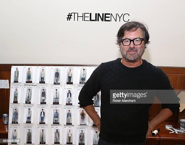 Designer Billy Reid attends Billy Reid during MercedesBenz Fashion Week Spring 2015 at The Highline Hotel on September 6 2014 in New York City