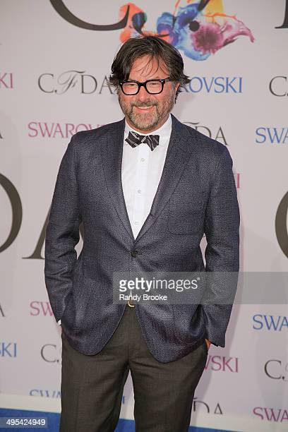 Designer Billy Reid attends the 2014 CFDA fashion Awards at Alice Tully Hall Lincoln Center on June 2 2014 in New York City