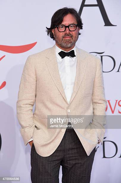 Designer Billy Reid attends the 2015 CFDA Fashion Awards at Alice Tully Hall at Lincoln Center on June 1 2015 in New York City