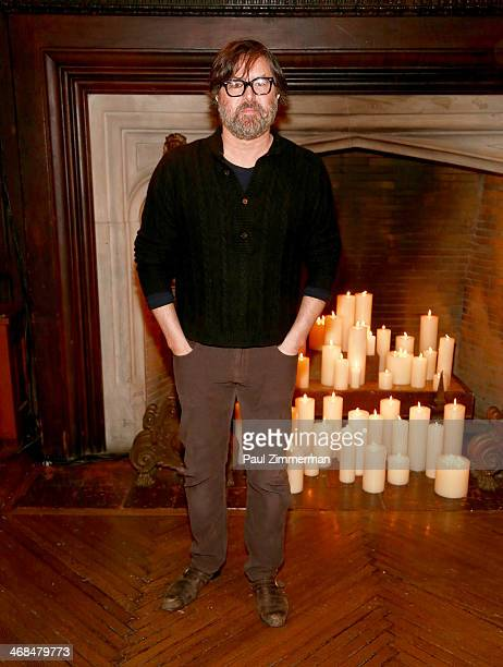 Designer Billy Reid attends the Billy Reid Men's show during MercedesBenz Fashion Week Fall 2014 at The Highline Hotel on February 10 2014 in New...