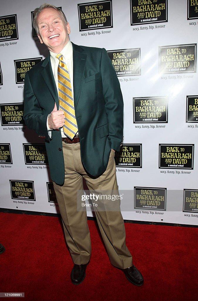 Designer Bob Mackie arrives at 'Back to Bacharach and David' Opening Night at The Music Box @ Fonda on April 19, 2009 in Hollywood, California.