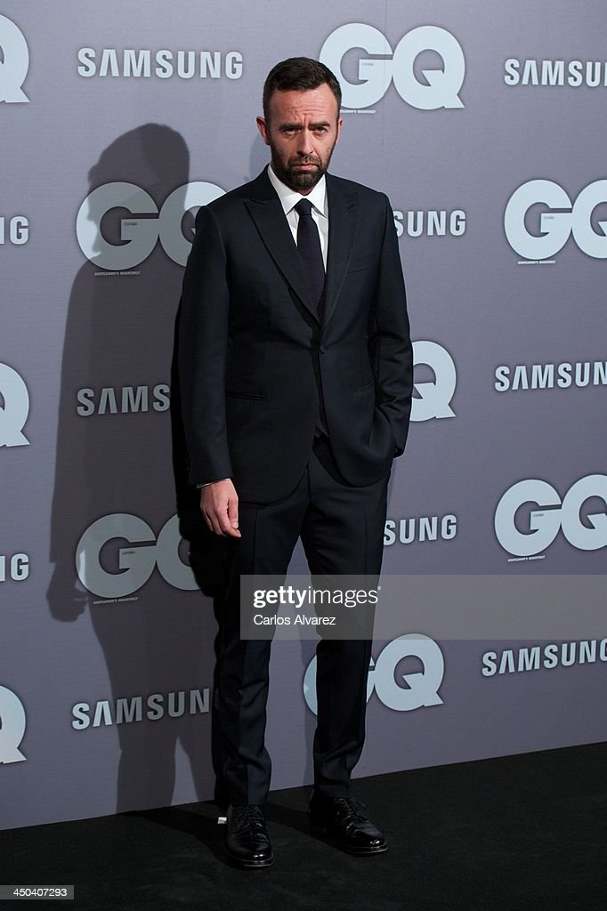 Designer Brendan Mullane attends the GQ Men Of The Year Award 2013 at the Palace Hotel on November 18, 2013 in Madrid, Spain.