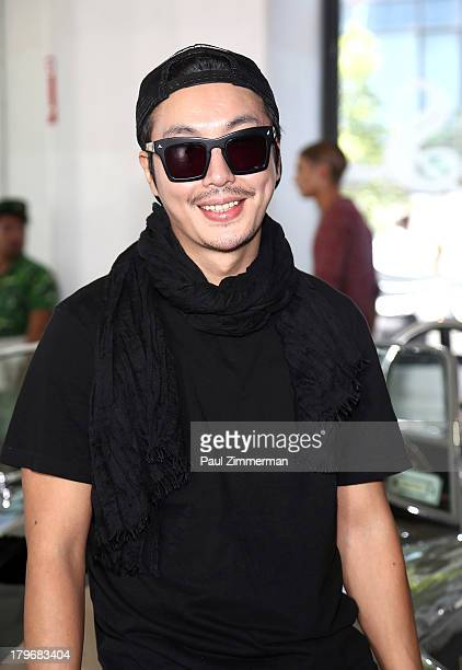 Designer Bumsuk Choi attends the General Idea show during Spring 2014 MercedesBenz Fashion Week at Classic Car Club on September 6 2013 in New York...