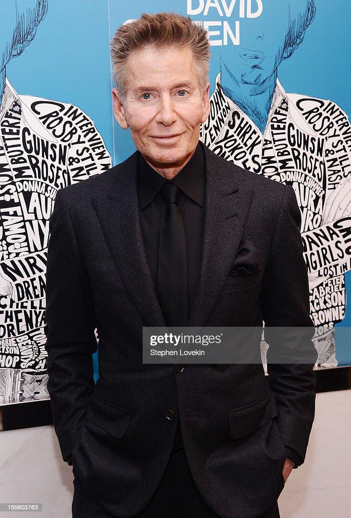Designer Calvin Klein attends the 'Inventing David Geffen' New York Premiere at Paris Theater on November 5 2012 in New York City