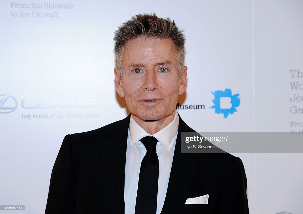 Designer Calvin Klein attends the VIP reception and viewing for The Fashion World of Jean Paul Gaultier: From the Sidewalk to the Catwalk at the Brooklyn Museum on October 23, 2013 in the Brooklyn borough of New York City.