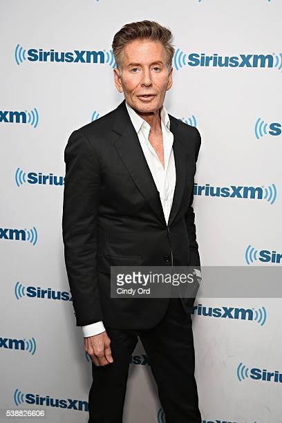 Designer Calvin Klein visits the SiriusXM Studios on June 8 2016 in New York City