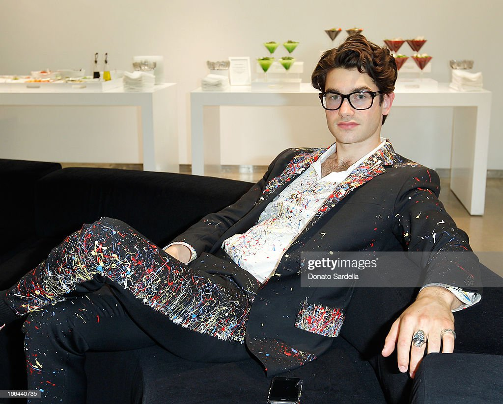 Designer Cameron Helm attends Saks Fifth Avenue presents Peter Pilotto at Saks Fifth Avenue Beverly Hills on April 12, 2013 in Beverly Hills, California.