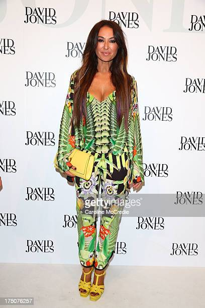 Designer Camilla Frank arrives at the David Jones Spring/Summer 2013 Collection Launch at David Jones Elizabeth Street on July 31 2013 in Sydney...