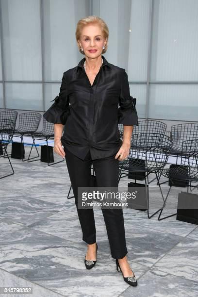 Designer Carolina Herrera attends Oscar De La Renta fashion show during New York Fashion Week on September 11 2017 in New York City