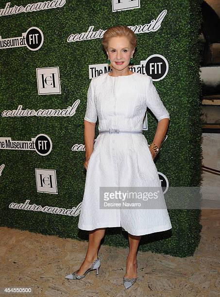 Designer Carolina Herrera attends the 8th Annual Fashion Award Honoring Carolina Herrera at David H Koch Theater at Lincoln Center on September 3...