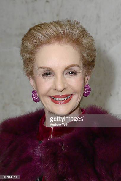 Designer Carolina Herrera attends the Society Of Memorial SloanKettering Cancer Center's Associates Committee fall party at Four Seasons Restaurant...