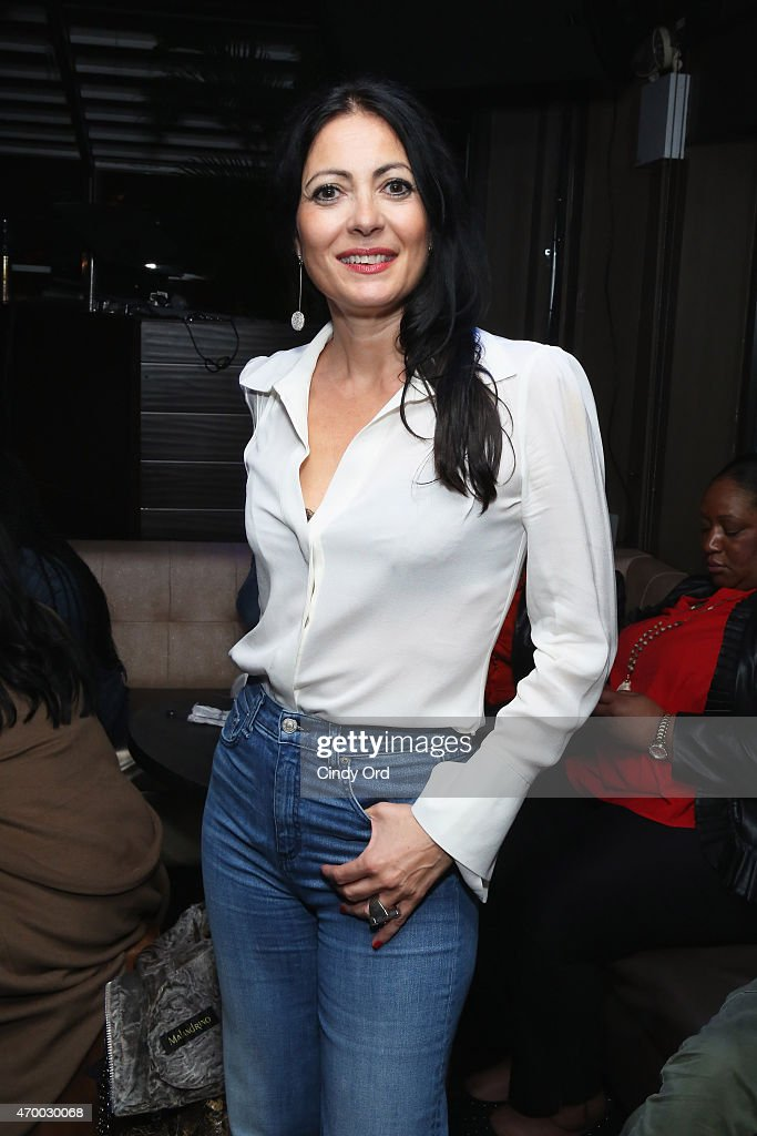 Designer Catherine Malandrino attends the 2015 Tribeca Film Festival afterparty for 'Mary J Blige The London Sessions' sponsored by American Express...