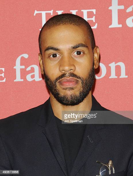 Designer Charles Harbison attends the 2015 Fashion Group International's Night of Stars at Cipriani Wall Street on October 22 2015 in New York City