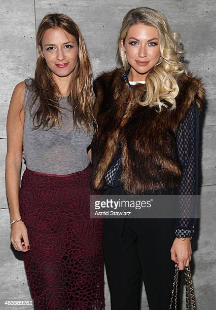 Designer Charlotte Ronson and Stassi Schroeder attend the Charlotte Ronson fashion show during MercedesBenz Fashion Week Fall 2015 at The Pavilion at...