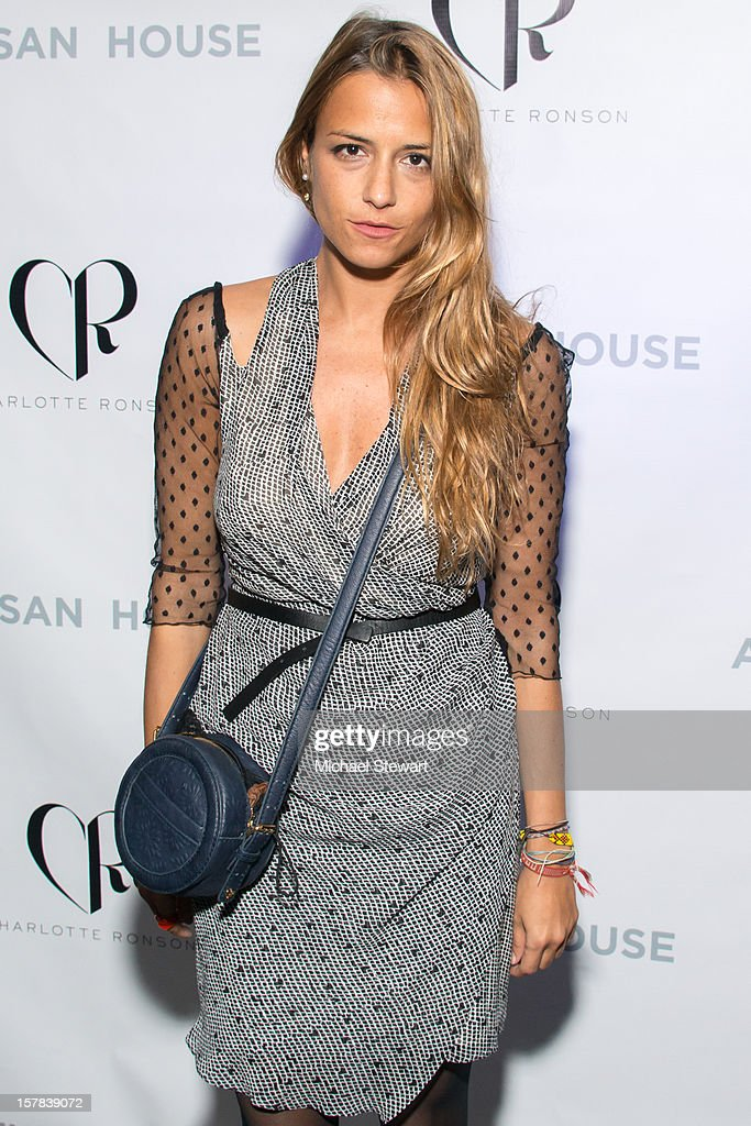 Designer Charlotte Ronson attends Charlotte Ronson And Artisan House Handbag Launch Event at Toy Restaurant on December 6, 2012 in New York City.