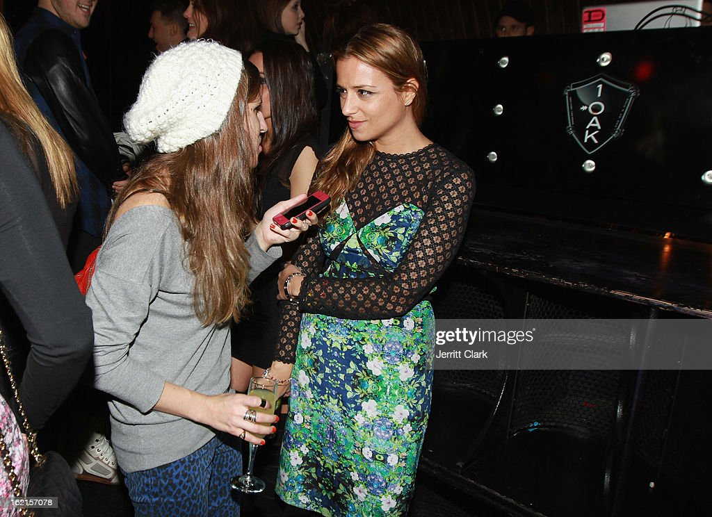 Designer Charlotte Ronson attends her Charlotte Ronson After Party during Fall 2013 Fashion Week at 1 Oak on February 8, 2013 in New York City.