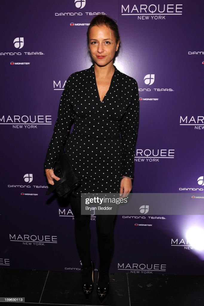 Designer Charlotte Ronson attends the grand opening of Marquee New York on January 16, 2013 in New York City.