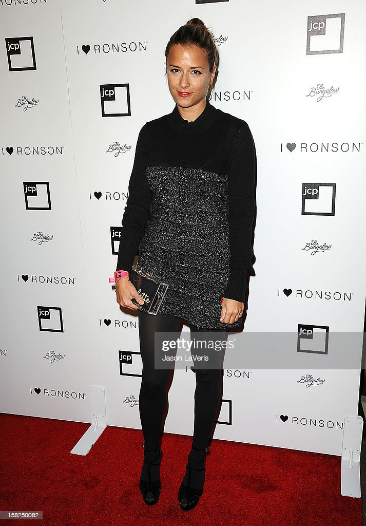 Designer Charlotte Ronson attends the I Heart Ronson celebration at The Bungalow on December 11, 2012 in Santa Monica, California.