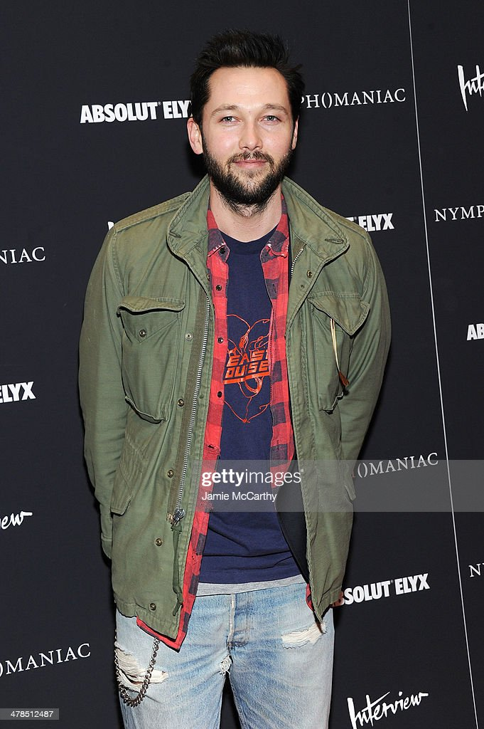 Designer Chris Benz attends the 'Nymphomaniac: Volume I' New York screening at Museum of Modern Art on March 13, 2014 in New York City.