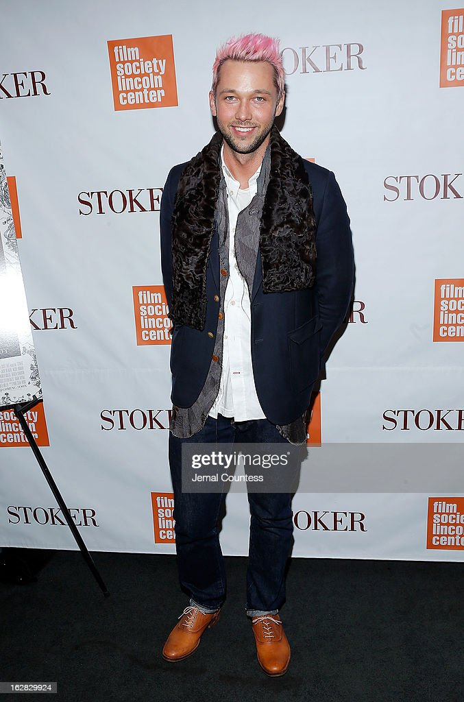 Designer Chris Benz attends the 'Stoker' New York Screening at The Film Society of Lincoln Center Walter Reade Theatre on February 27 2013 in New...