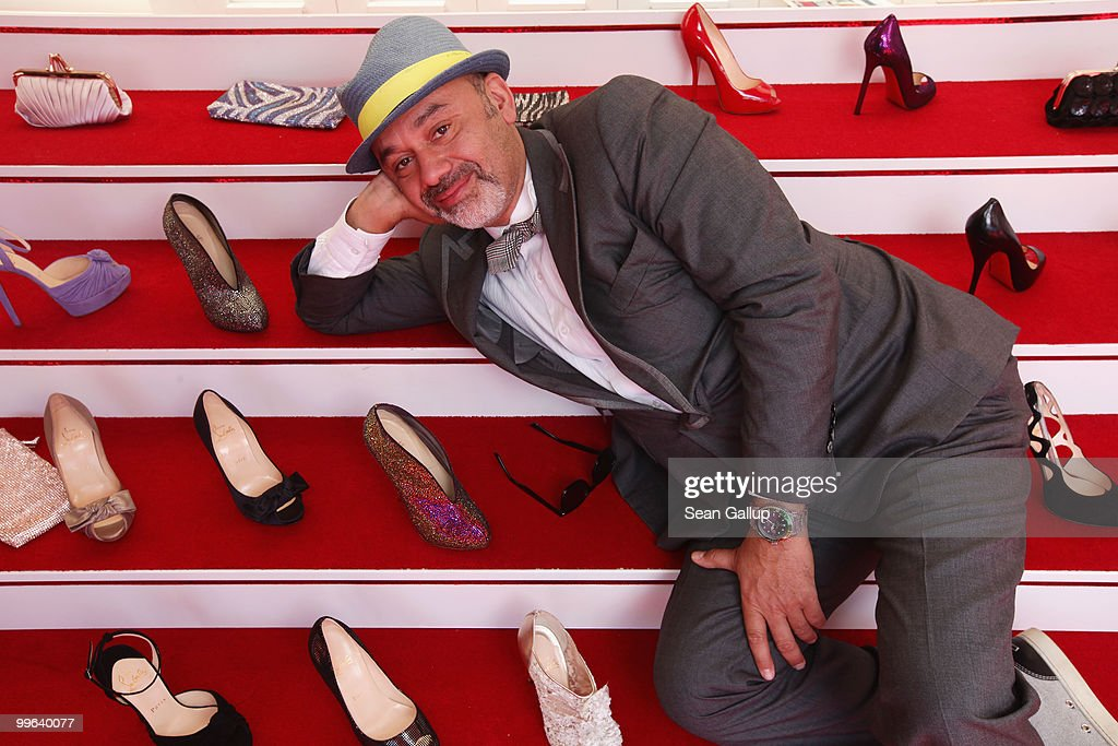 Designer Christian Louboutin attends 'Le Carrosse Noir And The Loubi's Angels' presented by Christian Louboutin at Palm Beach Casino during the 63rd...