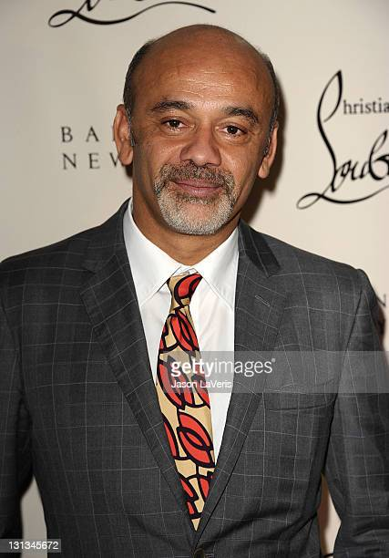 designer christian louboutin gkoh  Barneys New York Hosts Christian Louboutin Book Launch Party At Beverly  Hills Store Celebrating 20 Years