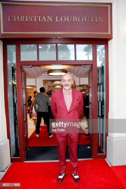 Designer Christian Louboutin during the Christian Louboutin Store Opening on June 23 2017 in Munich Germany