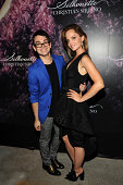 Designer Christian Siriano and actress Mena Suvari attend Christian Siriano's celebration of his new fragrance with a Stoli Vodka cocktail at the...