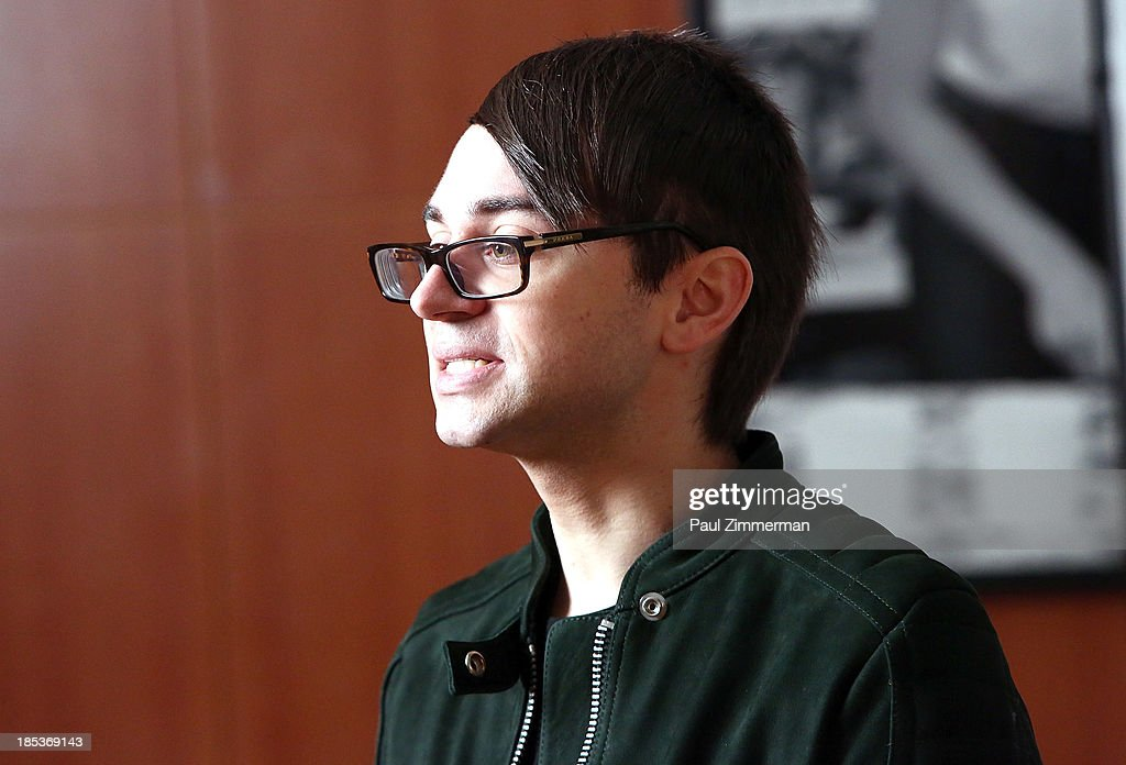 Designer Christian Siriano attends the 8th Annual Teen Vogue University at Conde Naste Building on October 19, 2013 in New York City.