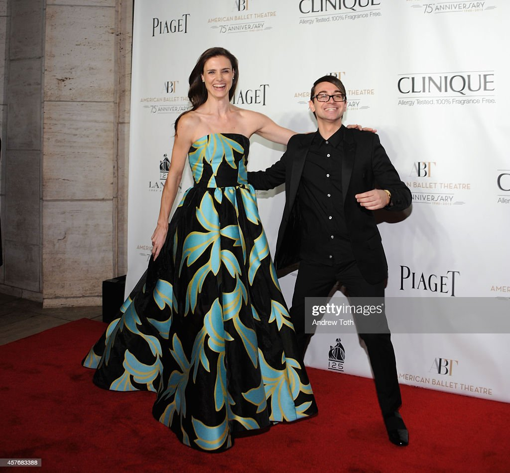 Designer Christian Siriano attends the American Ballet Theatre 2014 Opening Night Fall Gala at David H Koch Theater at Lincoln Center on October 22...