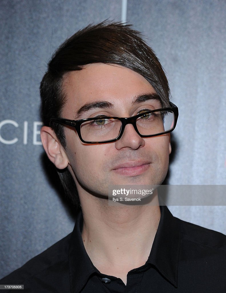 Designer Christian Siriano attends The Cinema Society And Bally Host A Screening Of Summit Entertainment's 'Red 2' at The Museum of Modern Art on July 16, 2013 in New York City.