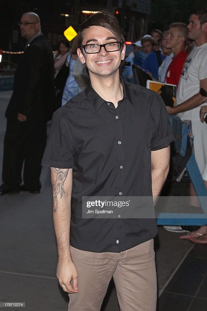 Designer Christian Siriano attends The Cinema Society & Bally screening of Summit Entertainment's 'Red 2' at the Museum of Modern Art on July 16, 2013 in New York City.